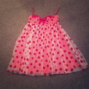 Betsey Johnson Red Polka Dot Dress